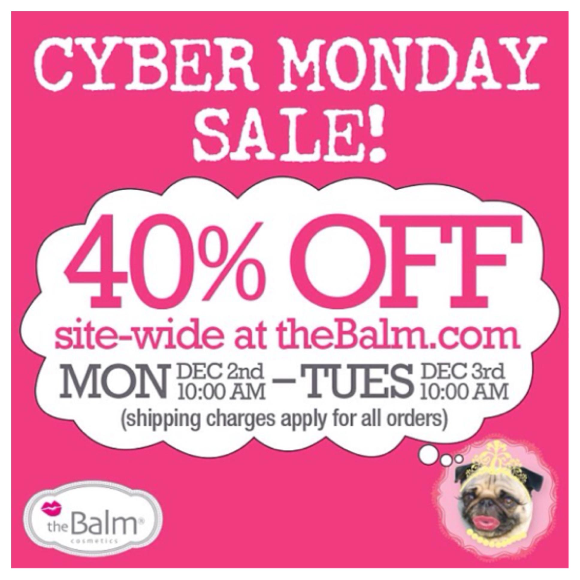 The Balm Cyber Monday