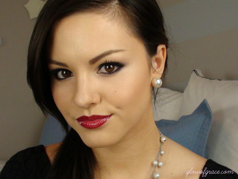 PLL: Mona's Makeup & OOTD | glowofgrace