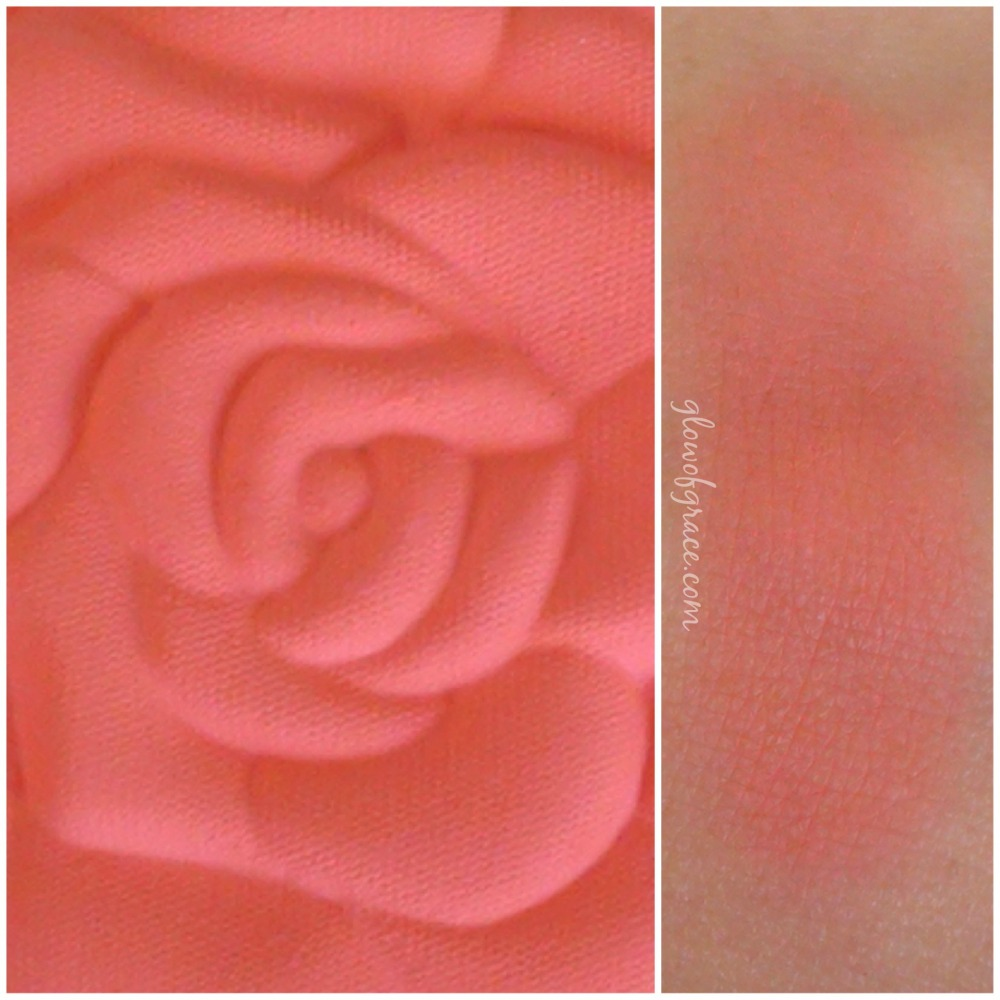 milani rose swatch | coral cove