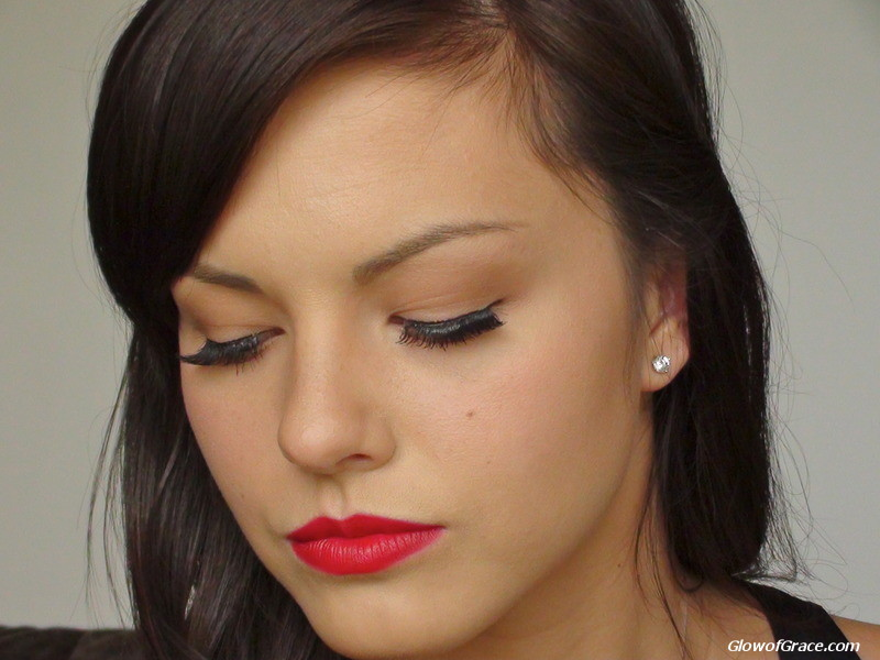 1940's makeup & the perfect red lip