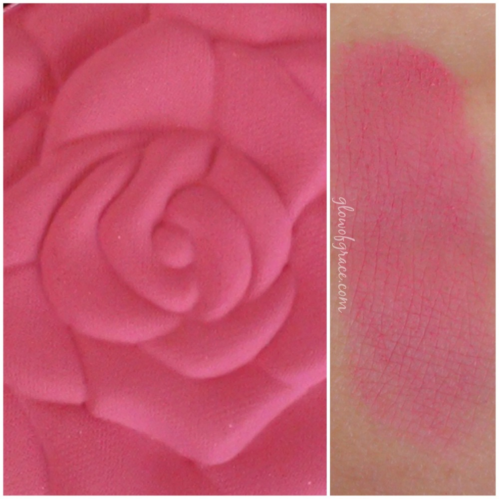 milani rose swatch | love potion