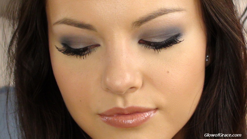 Navy & Gray Smoky Eye