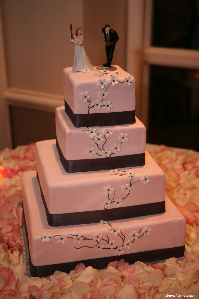 wedding - cake topper