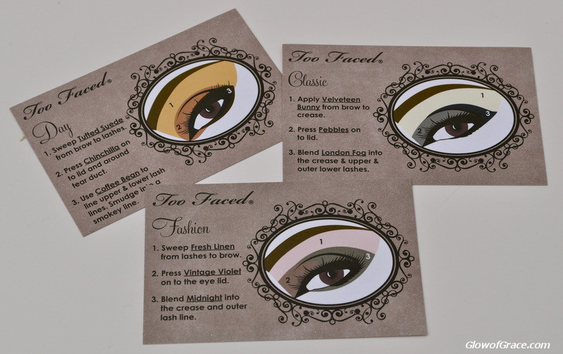 Too Faced Matte Eye Look Cards