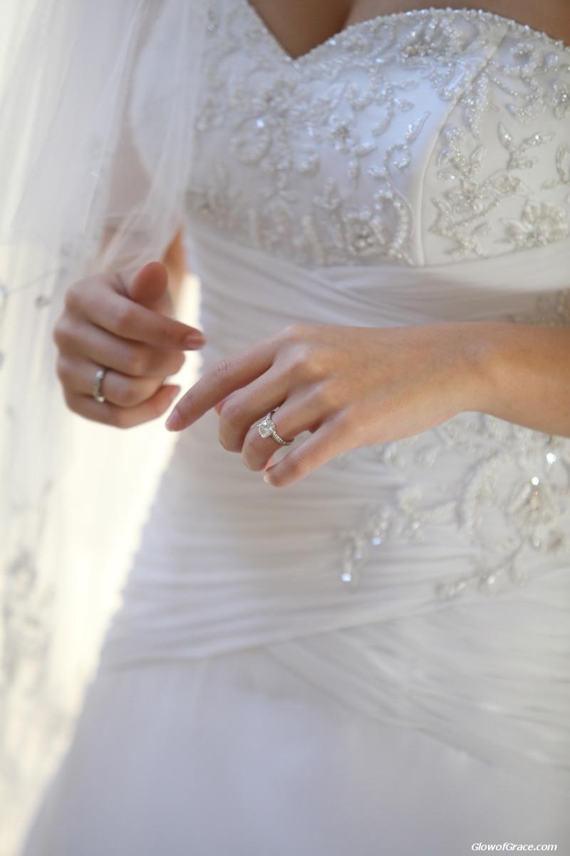 wedding - dress detail
