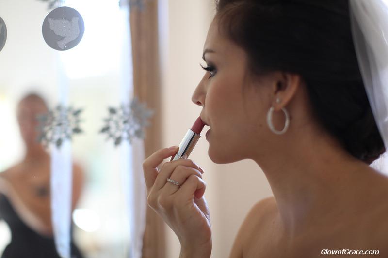 wedding - lipstick