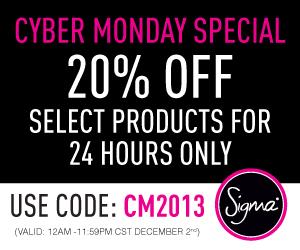 Sigma Cyber Monday