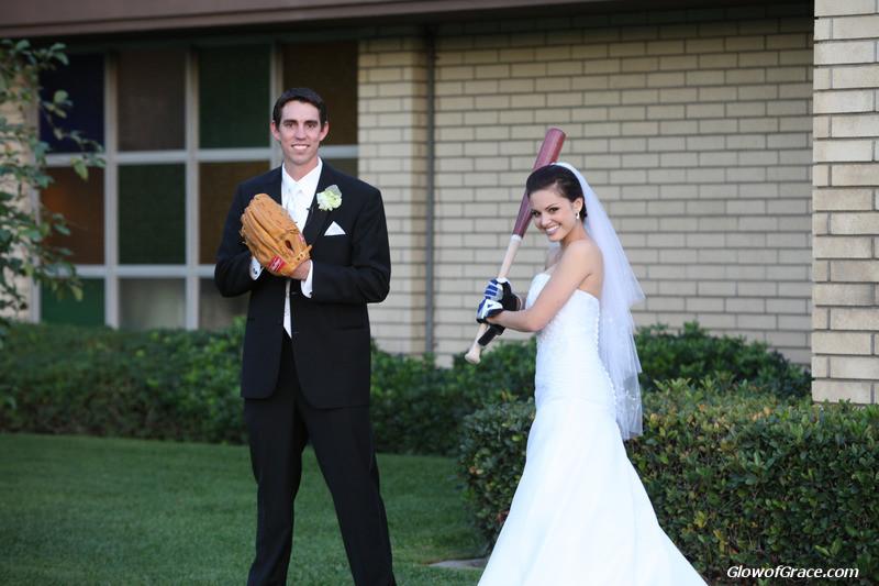 wedding - baseball