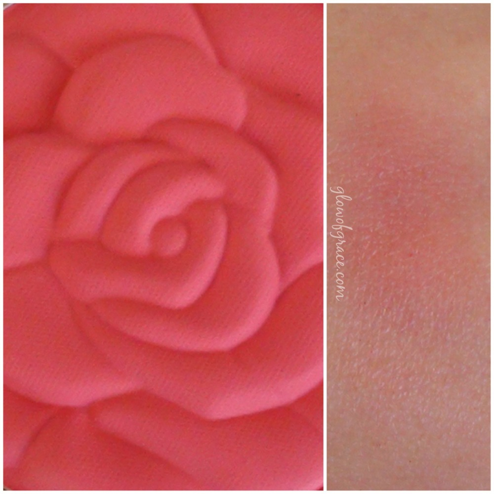 milani rose swatch | lady rouge