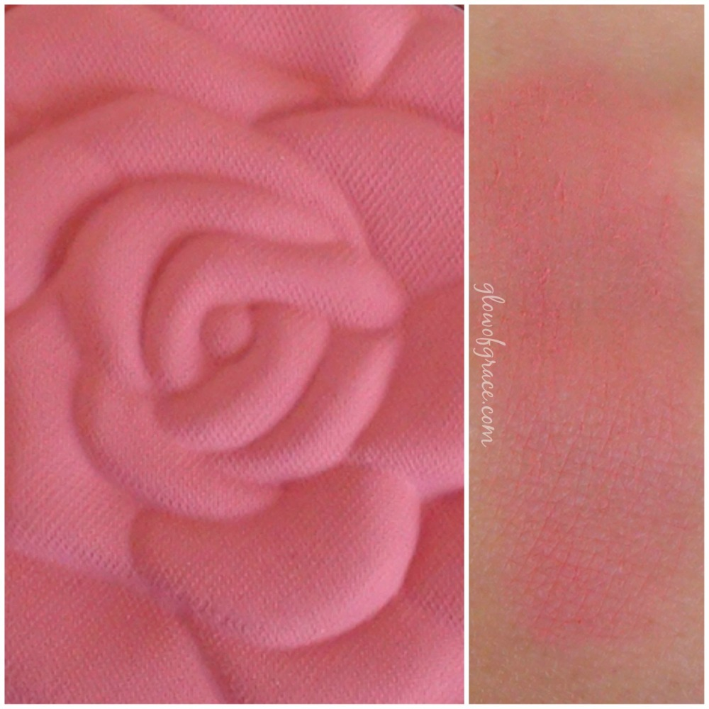 milani rose swatch | tea rose