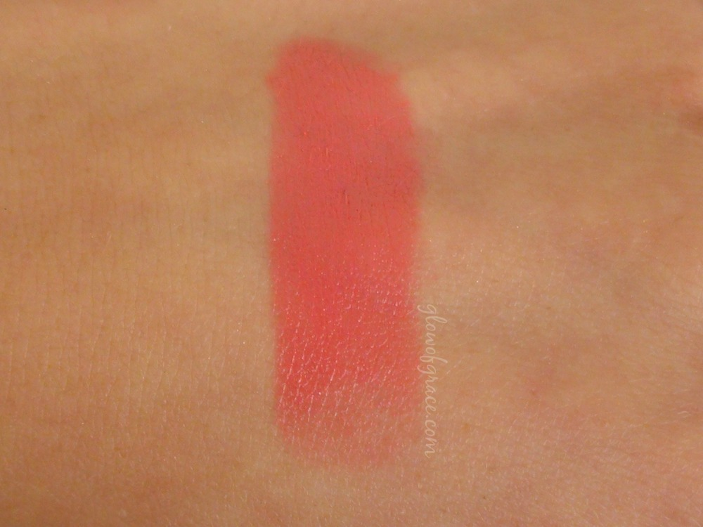 VMV Lipstick Swatch